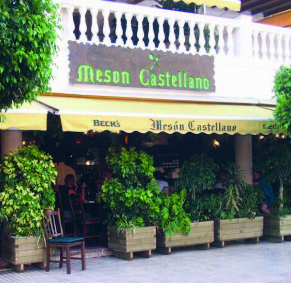 For those who enjoy typical Spanish cuisine, the Mes�n Castellano will be a gastronomic dream come true.